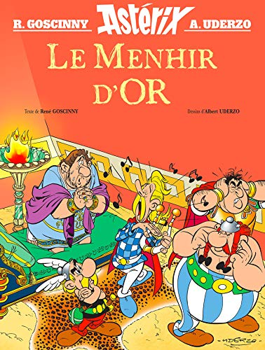 ASTERIX, LE MENHIR D'OR