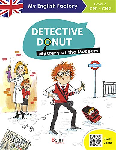 DETECTIVE DONUT, MYSTERY AT THE MUSEUM